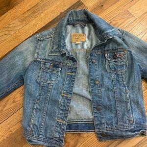 Hollister Jean Jacket size small